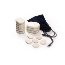 Набор мраморных камней для массажа 15Pcs Deluxe Marble RMS-15TC