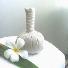 Мешочки для тайского массажа  (white)