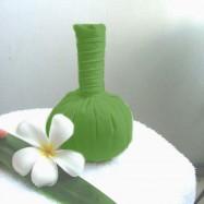 Мешочки для тайского массажа (green)