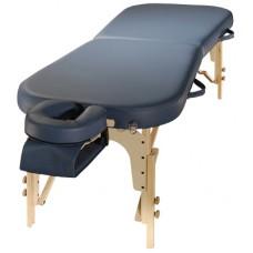 Складной массажный стол SM-6-1, деревянный