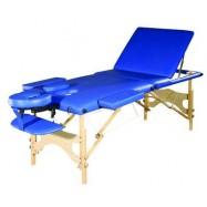 Складной массажный стол SM-2 ekonom +, деревянный