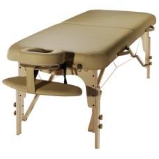 Складной массажный стол SM-3, деревянный