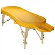 Складной массажный стол SM-6, деревянный
