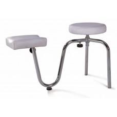 Педикюрный стульчик с подставкой ST-2