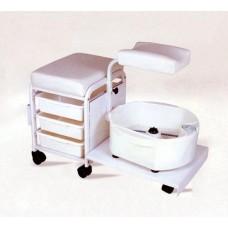 Тележка педикюрная SH-2305 с сидением