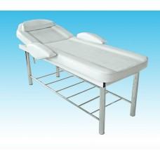 Стационарный массажный стол / косметологическая, смотровая кушетка KO-4
